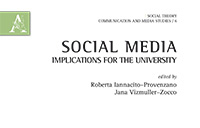 crop of the cover of the book Social Media and Implications for the University